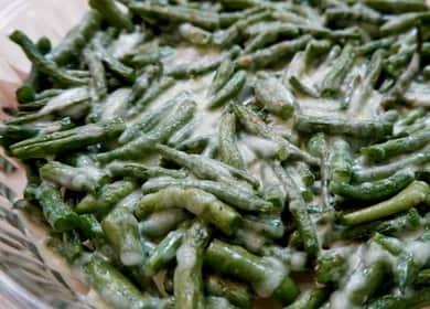 Стручковая фасоль - пошаговый рецепт приготовления на сковороде