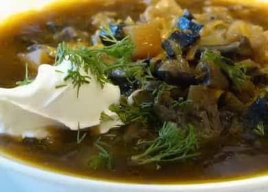 Как научиться готовить вкусный суп из сушеных грибов с перловкой 🥣
