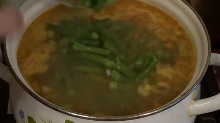 Как научиться готовить вкусный суп со стручковой фасолью