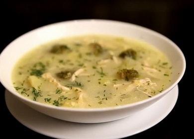 Сырный суп с брокколи и курицей — очень вкусный рецепт 🥣