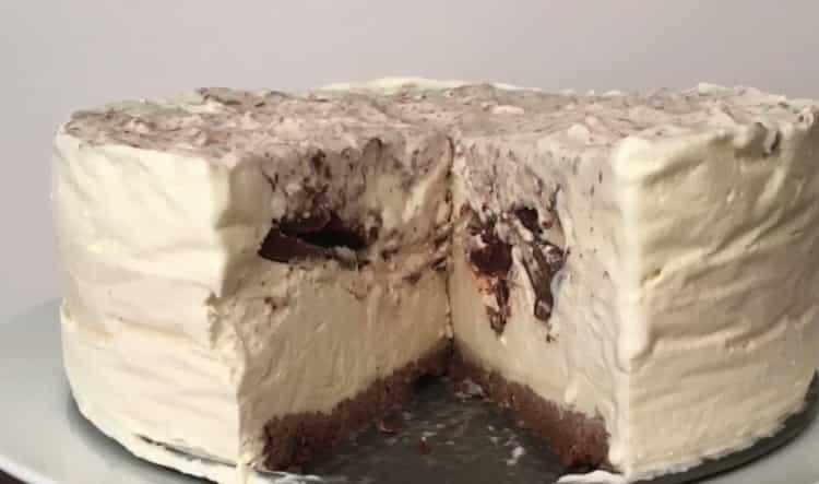 Торт-мороженое по пошаговому рецепту с фото готов