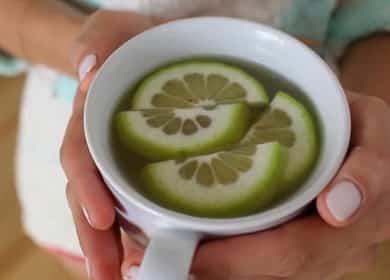 Рецепт приготовления вкусного чая с имбирем ☕