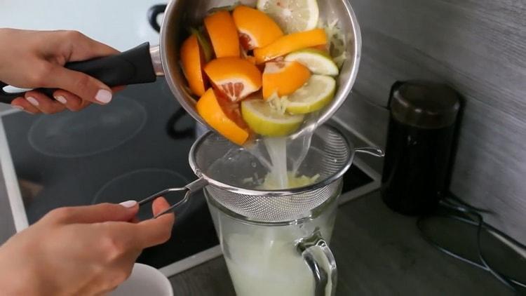 Для приготовления чая процедите чай