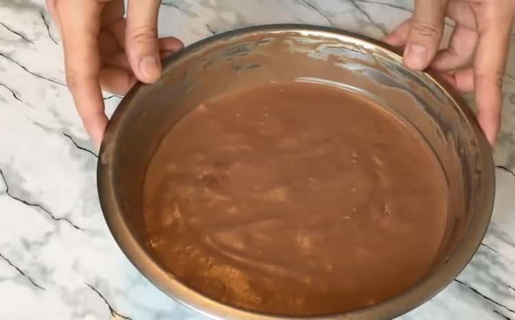 Шоколадное мороженое по пошаговому рецепту с фото