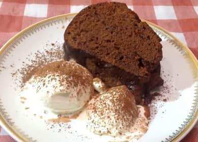 Очень простой и вкусный шоколадный кекс — готовим в силиконовой форме 🍩