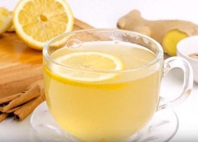 Корень имбиря для целебного чая: простой пошаговый рецепт с фото.