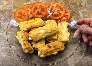 Готовим крабовые палочки в кляре с сыром по пошаговому рецепту с фото.