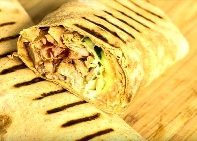 Самый вкусный и быстрый рецепт шаурмы: пошаговые фото!