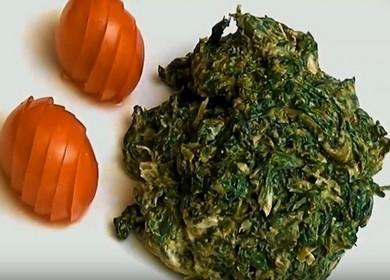 Очень вкусный рецепт приготовления замороженного шпината: готовим с пошаговыми фото.