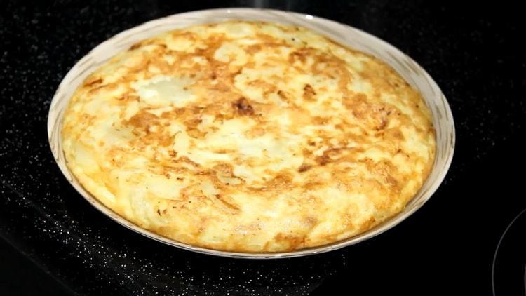 Испанская тортилья по пошаговому рецепту с фото