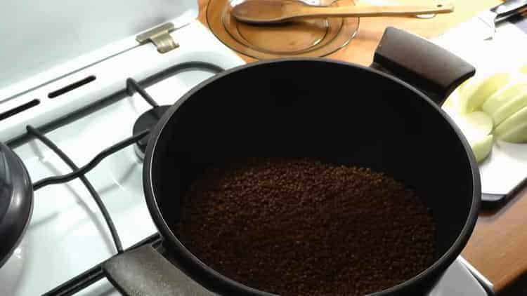 Как готовится каша гречневая рассыпчатая