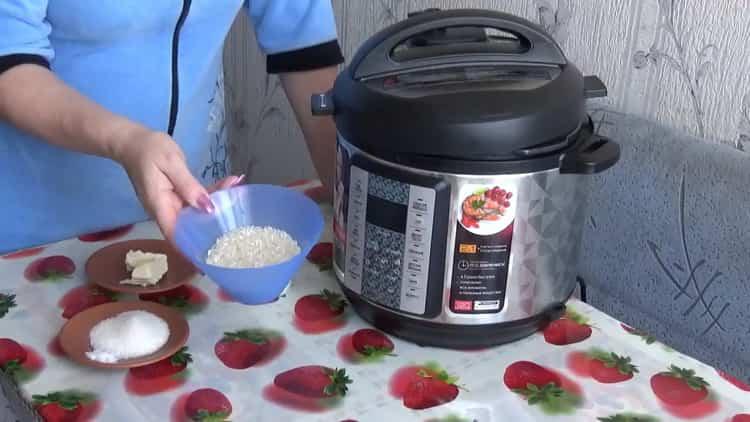 Как готовится каша рисовая на молоке в мультиварке редмонд