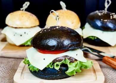 Котлеты для бургеров по пошаговому рецепту с фото