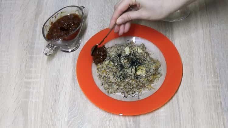 Куриные грудки с гречкой по пошаговому рецепту с фото