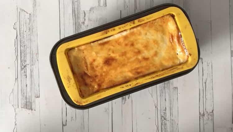 Пудинг из манки по пошаговому рецепту с фото