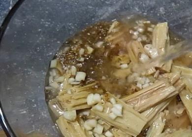 Маринованная спаржа по пошаговому рецепту с фото