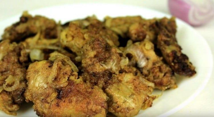 Теперь вы знаете, как можно вкусно приготовить куриную печень на сковороде.