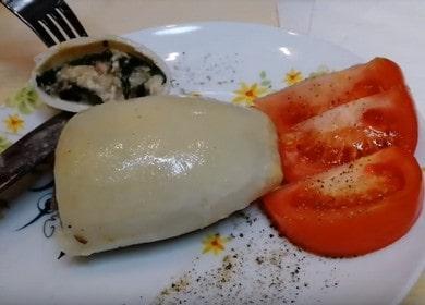 Сытные и вкусные кальмары, фаршированные рисом и грибами 🦑