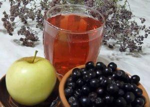 Готовим вкусный компот из черноплодной рябины по пошаговому рецепту с фото.