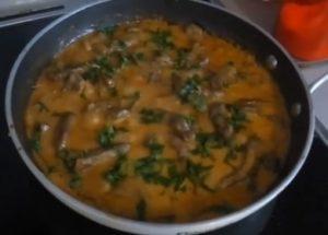 Вкусная подлива из говяжьей печени: готовим по рецепту с пошаговыми фото.