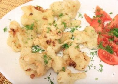 Постное блюдо из цветной капусты без яиц — просто и вкусно 🥦
