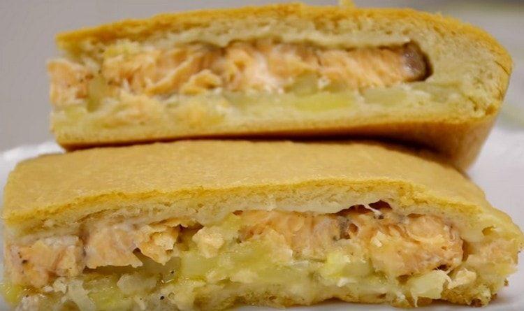 еще постный рыбный пирог рецепт с фото водяного