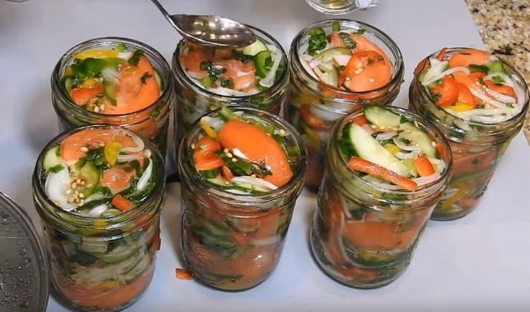 Салат донской на зиму рецепт с фото никто станет