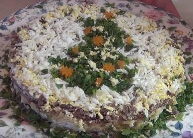 Как научиться готовить вкусный салат из свиной печени 🥩
