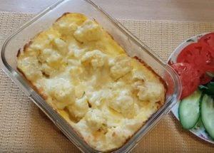 Нежная цветная капуста в духовке с яйцом: готовим по рецепту с пошаговыми фото.