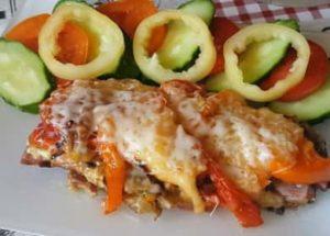 Мясо по-французски с грибами в духовке по пошаговому рецепту с фото
