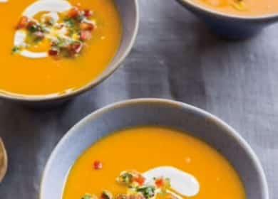 Очень легкий тыквенный суп-пюре 🍵