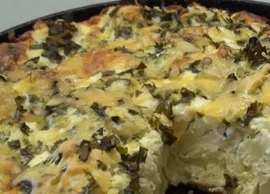 Вкусная цветная капуста с яйцом — запекаем в духовке 🥦