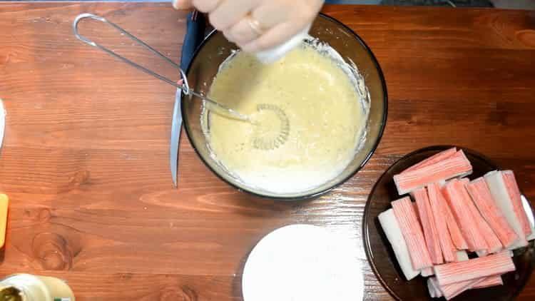 Для приготовления блюда добавьте соль