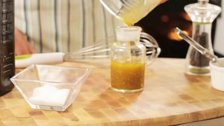Заправка для винегрета по пошаговому рецепту с фото