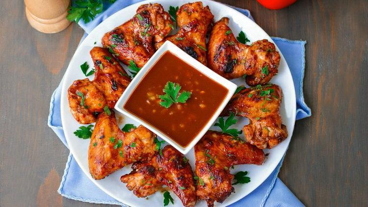 как замариновать крылышки куриные для шашлыка