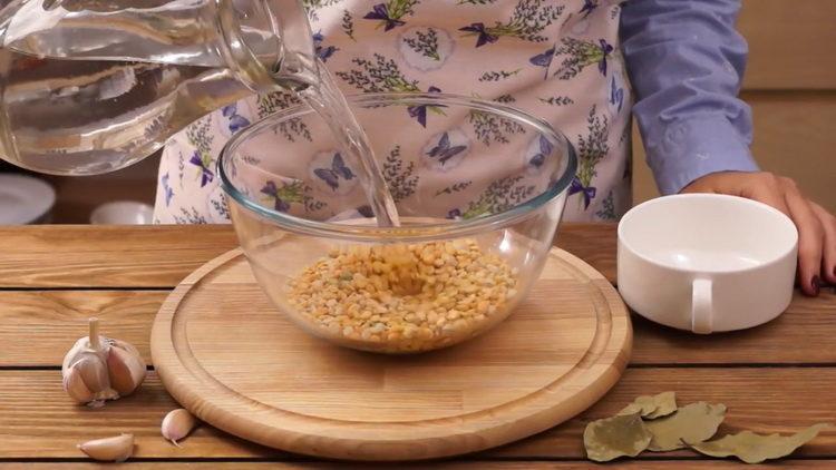 Готовим классический рецепт горохового супа