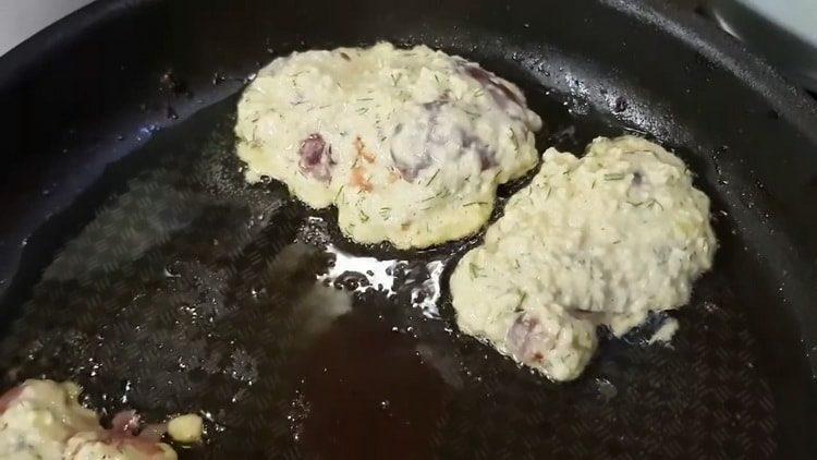 Куриная печень в кляре по пошаговому рецепту с фото