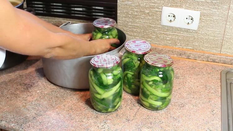 приготовьте посуду для стирилизации