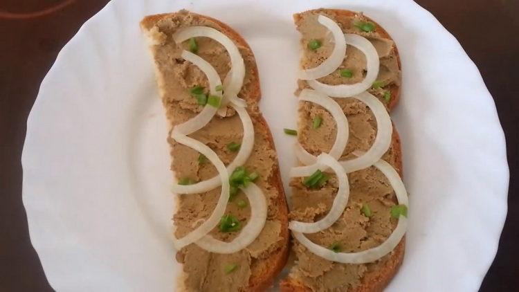 Паштет из говяжьей печени: пошаговый рецепт с фото