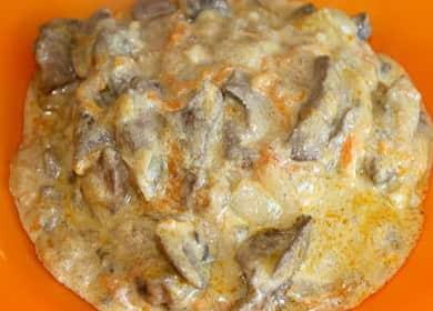 Как научиться готовить вкусную подливу из печени 🍲