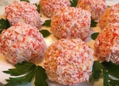 Как научиться готовить вкусное рафаэлло из крабовых палочек 🍥