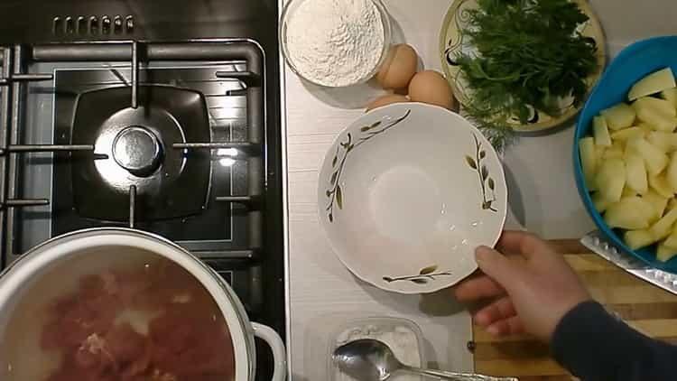 Готовим суп из куриной печени