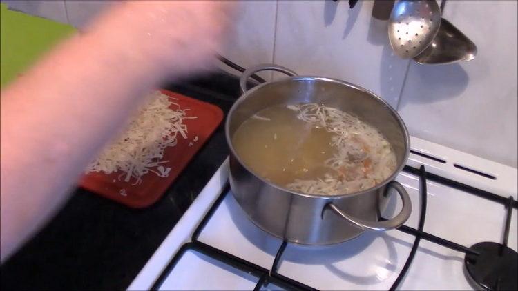 Для приготовления блюда добавьте ингредиенты