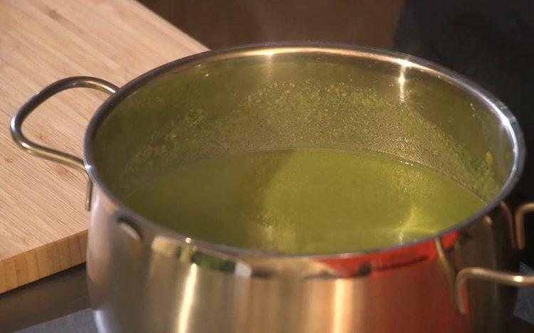 Для приготовления блюда измельчите ингредиенты