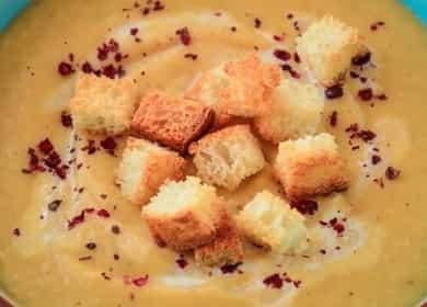 Крем-суп с цветной капустой и картошкой — полезно и очень вкусно 🍵