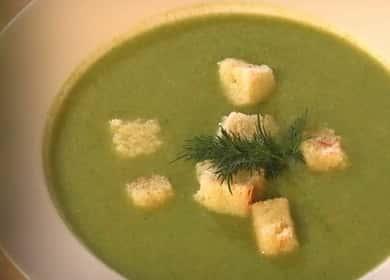 Суп-пюре из брокколи, шпината и цветной капусты — вкусно и очень полезно 🍵