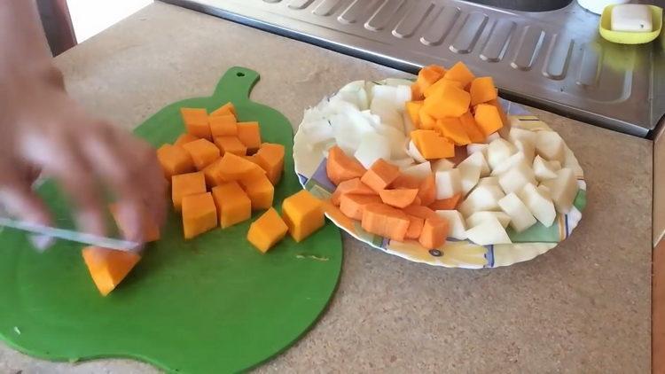Готовим тыквенный суп пюре