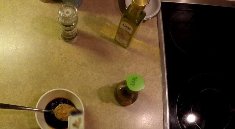 Для приготовления блюда приготовьте соус