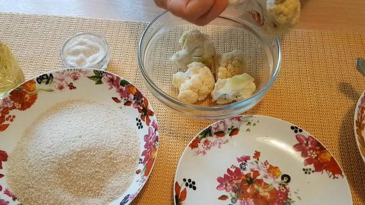 Как готовится цветная капуста рецепты приготовления на сковороде