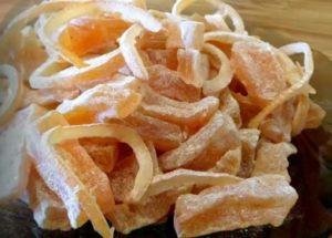 рецепт приготволения вкусный цукатов из тыквы быстро